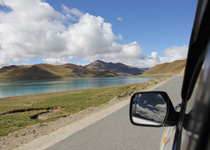 Driving through Qinghai - Tibet Highway